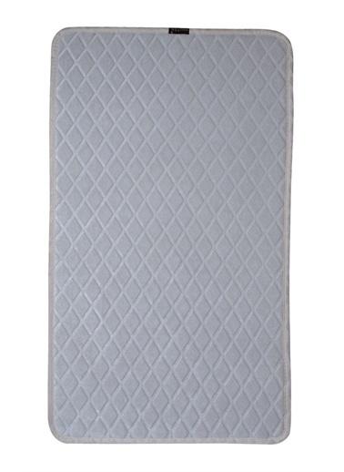 ikinciten Banyo Klozet Paspas 2'Li Takımı Halısı Seti Lateks Kaymaz Taban Yumuşak Yıkanabilir 60X100-50X60 Ekru Ekru